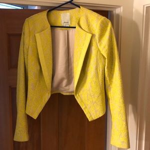 Anthropologie-elevenses bolero jacket